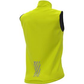 Alé Cycling Klimatik Guscio Racing Kamizelka wodoszczelna Mężczyźni, fluo yellow